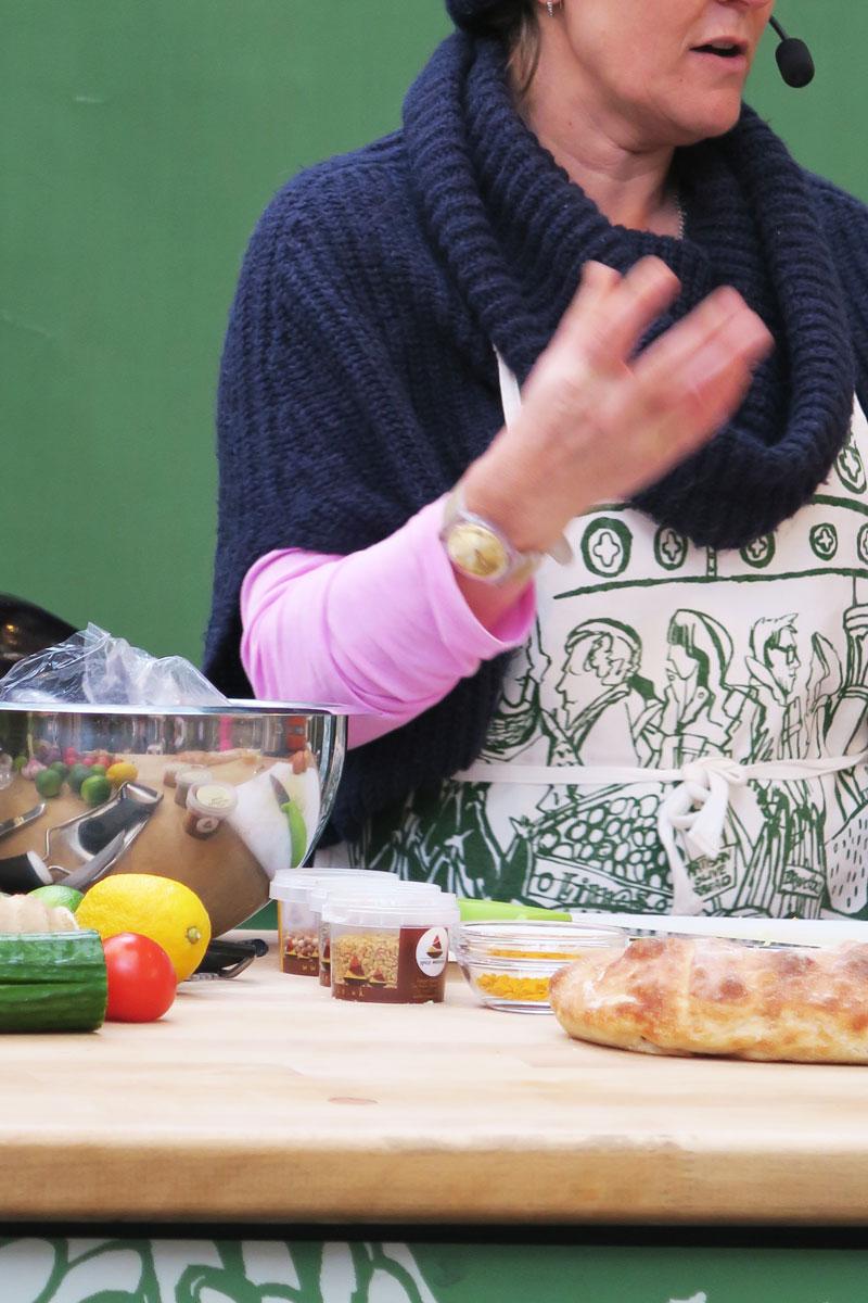 borough market london jenny chandler demo kitchen