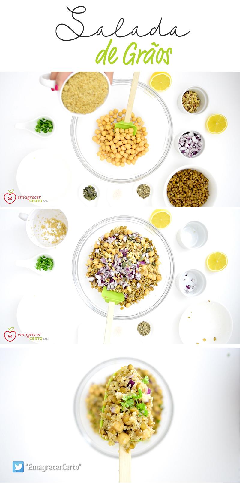 salada de graos funcional emagrecer certo blog