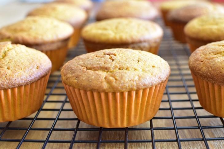 muffin de cenoura integral