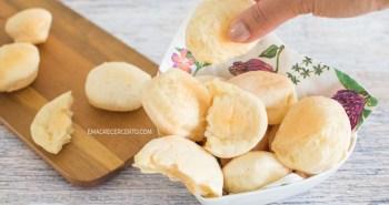 Pão de queijo e inhame