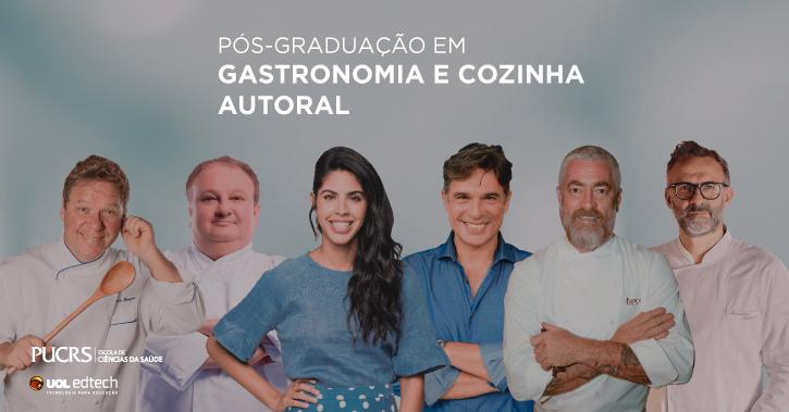Pós-graduação em Gastronomia e Cozinha Autoral