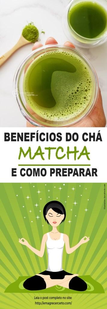 Benefícios do chá matcha   Blog Emagrecer Certo