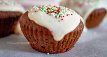 Bolinho de natal sem gluten sem lactose