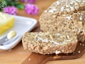 Pão de Aveia Funcional | Sem trigo, sem leite, sem ovos | Blog Emagrecer Certo #emagrecercerto #receitafuncional #receitasaudavel #paodeaveia #paofit