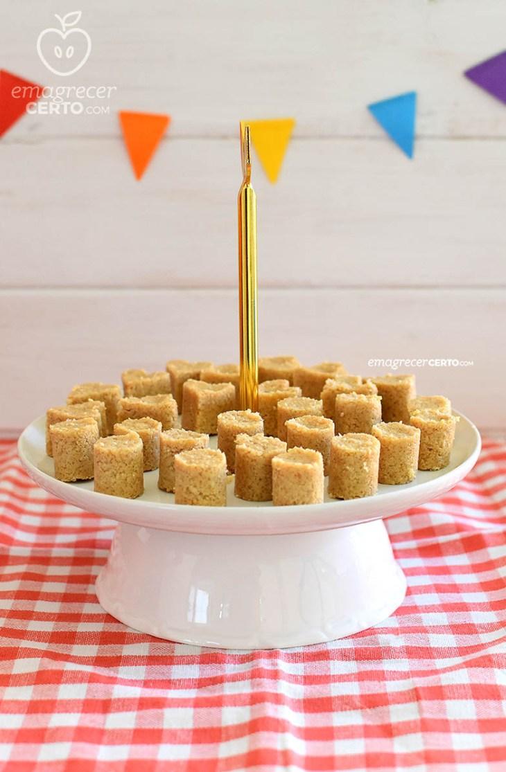 Paçoca Sem Açúcar Fit Diet - Receita Junina - Blog Emagrecer Certo