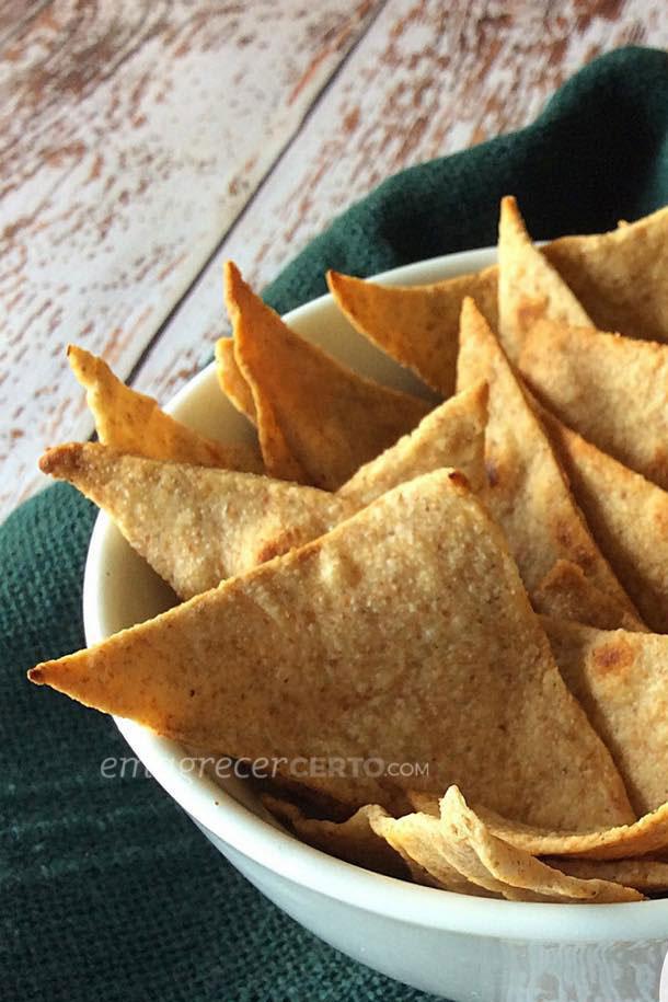 Tortilha chips integrais