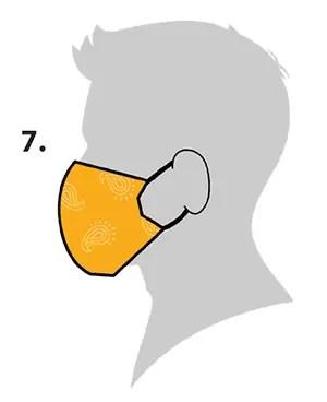 como fazer máscara de pano - molde 04