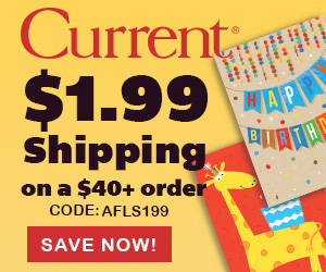 Cards & Wrap for All Occasions & $1.99 Shipping @ $30! Exp. 6/5. Use code AFLS199