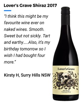 Lover's Grave Shiraz