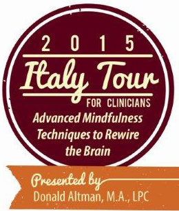 2015 Italy Tour for Clinicians