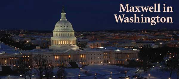 Maxwell in Washington