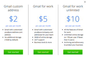 Google Is Offering Custom Gmail Address