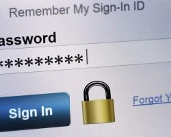 Yahoo Password login