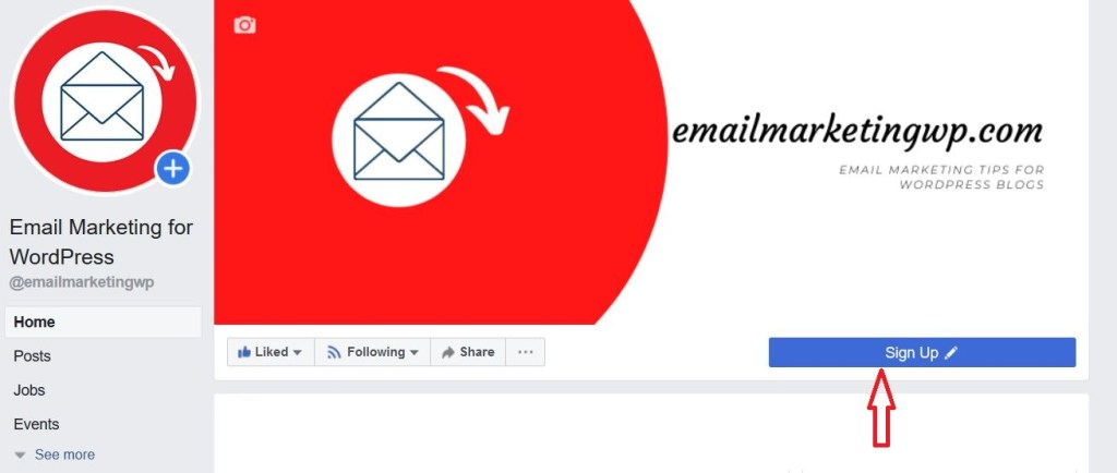 Build Email List subscribers from facebook