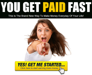 you get paid fast