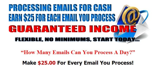 join email processing