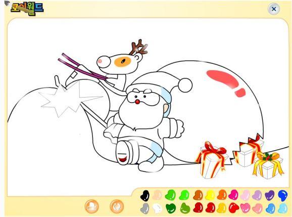 Santa's painting game