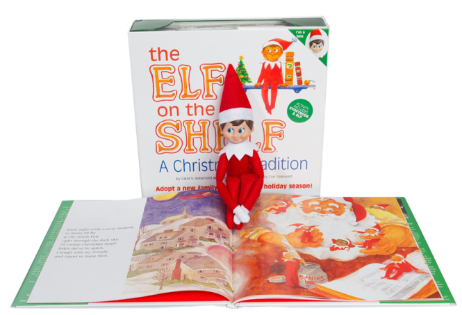 Elf on the shelf Christmas traditions