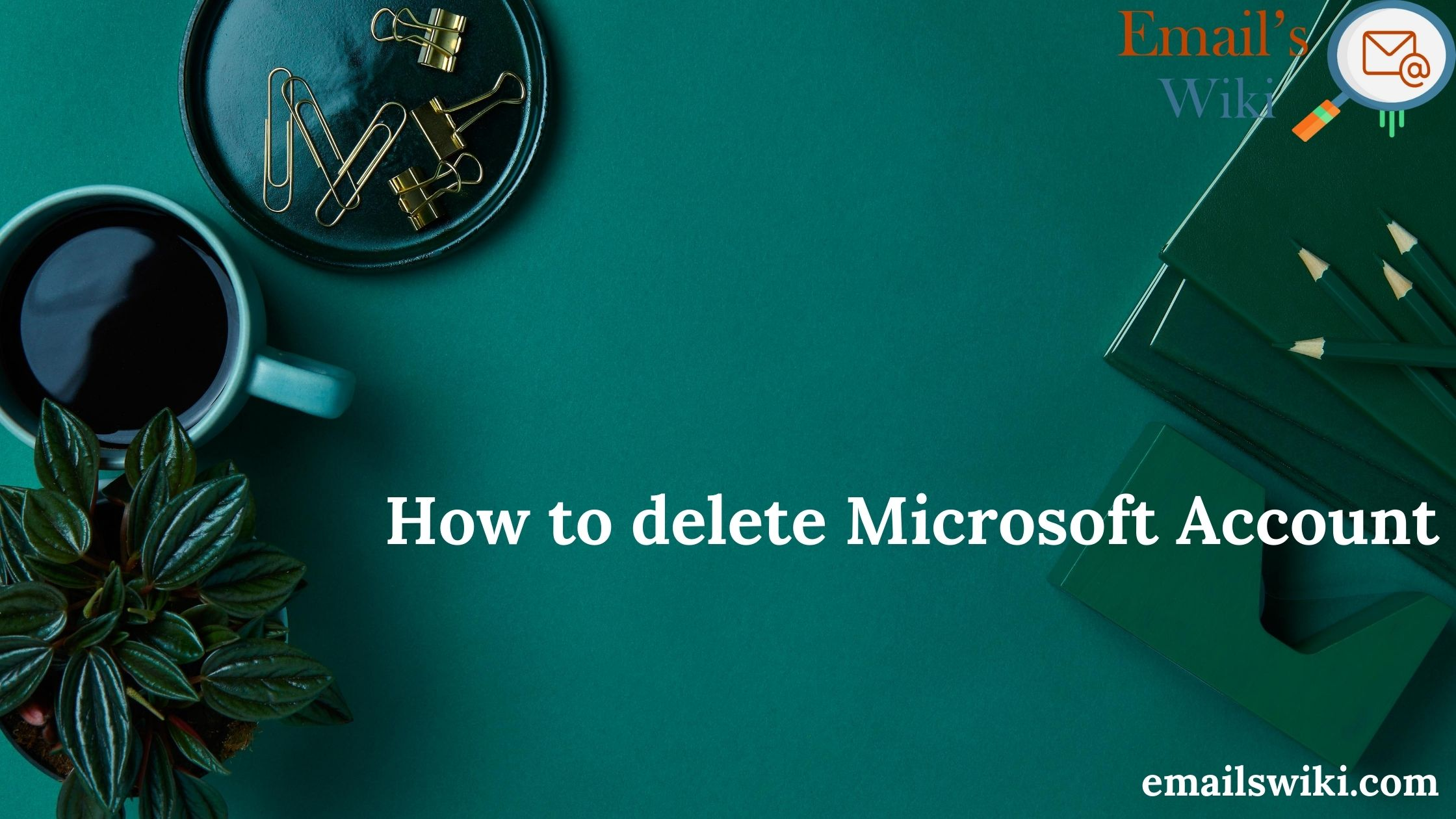 delete microsoft account