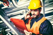 Worker receiving Email To Voice messages