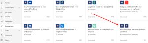 Gmail Microsoft Flow Forward trigger