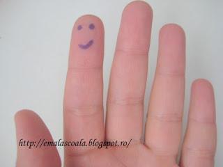 desen pe deget