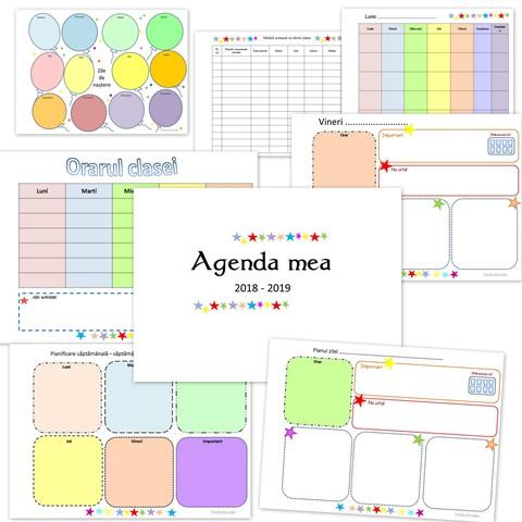 agenda invatatorului