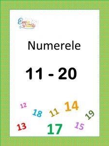 numerele de la 11 la 20
