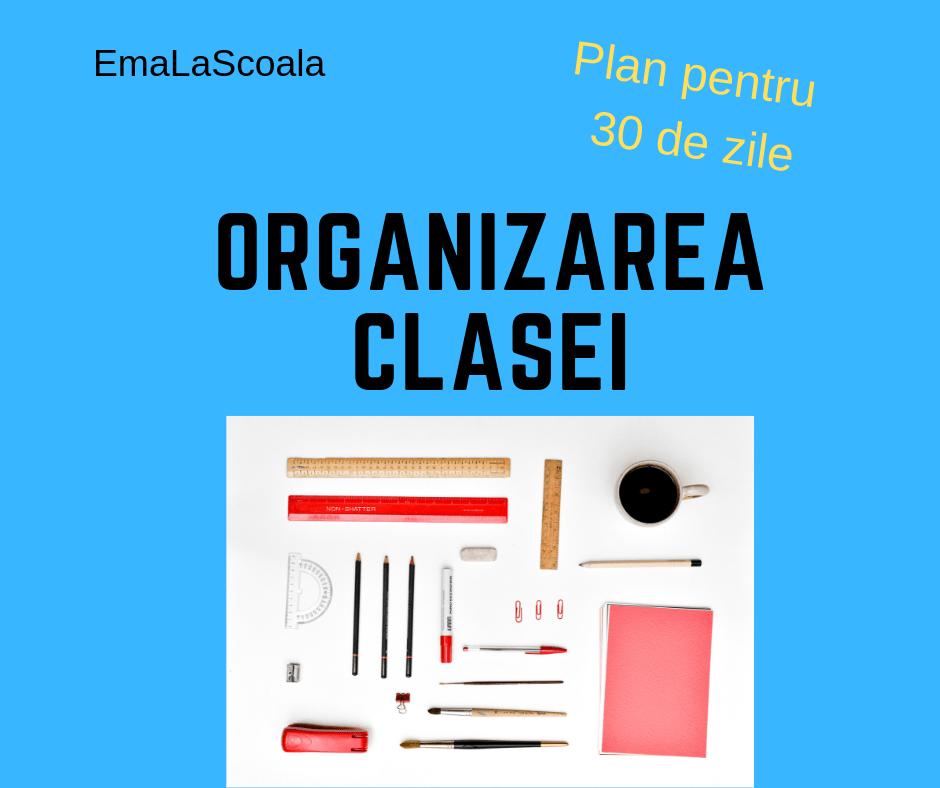 organizarea clasei