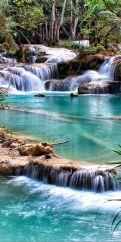 Kuang Si Falls - Luang Prabang
