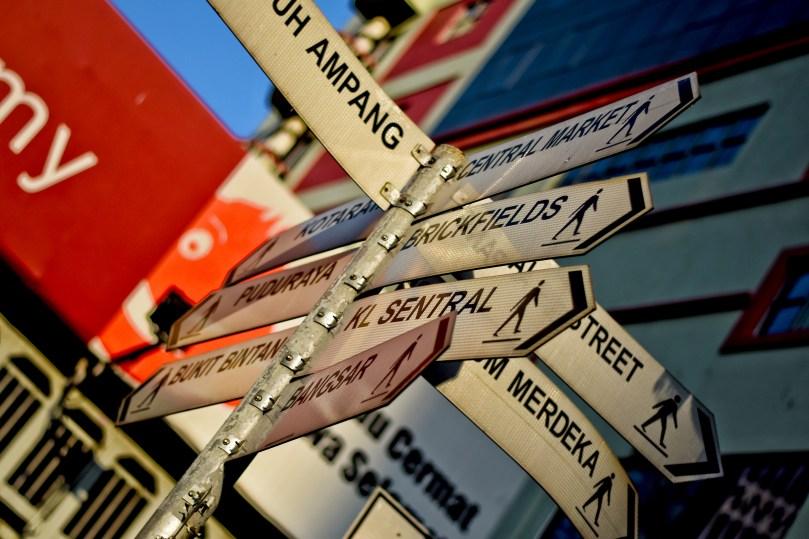 Kuala Lumpur Street Signs