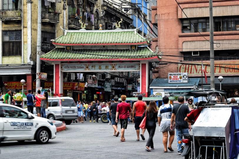 Filipino-Chinese Arch of Goodwill