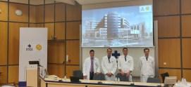 Ως ομιλητής σε εκδήλωση για τη λαπαροσκοπική αντιμετώπιση οξέων χειρουργικών παθήσεων.