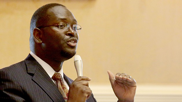 Rev. Clementa Pinckney on the State Senate Floor