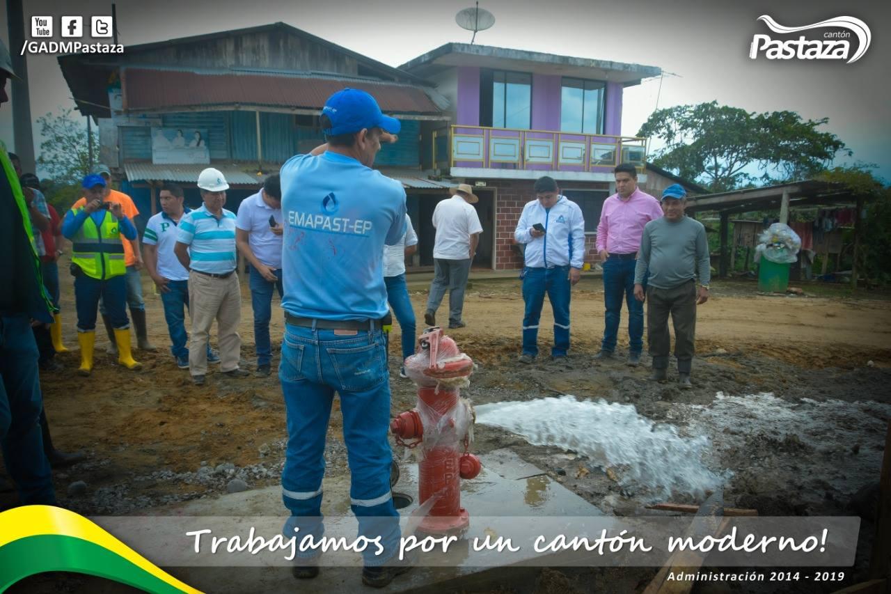 El Agua Potable Llega Hasta La Comunidad Mariscal Sucre, Más