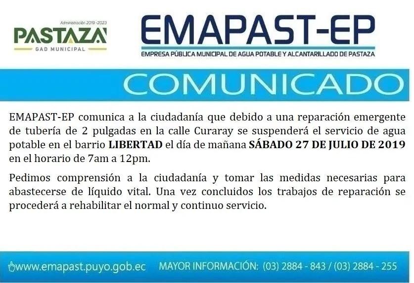 |#Comunicado| |#TrabajosEmergentes|