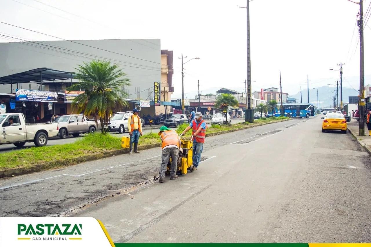 |#AvenidaAlbertoZambrano| Municipio Prepara Vía Para El Desfile Del Carnaval L