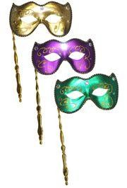 Mardi Gras Masquerade Masks Venetian Style Masks For Balls Proms