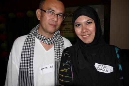 Martias Mohd Ali Suami Mak Dara Telah Kembali Kerahmatullah