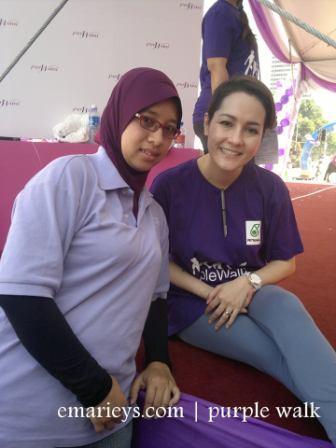 yasmin hani purple walk