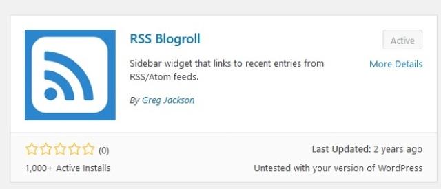 Cara Letak Bloglist Dalam Blog WordPress