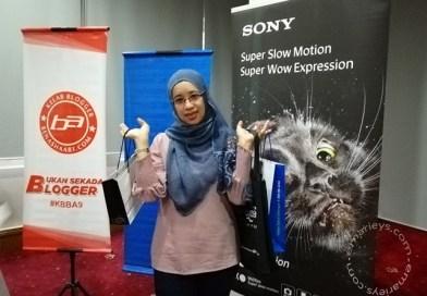 Celik Mata Selepas Hadir Ke Bengkel Fotofon KBBA9 Bersama Sony Malaysia