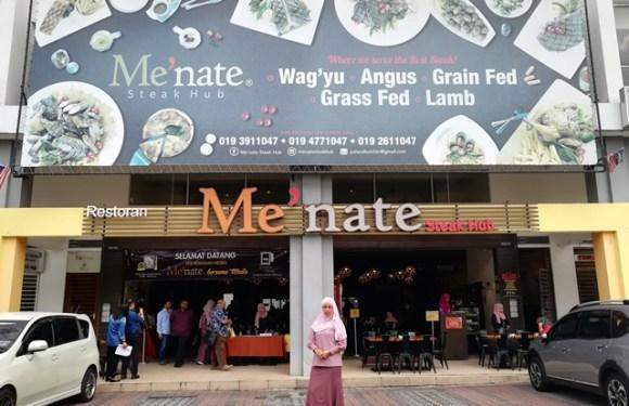 Me'nate Steak Hub Raih Dua Anugerah Dalam Masa 3 Tahun