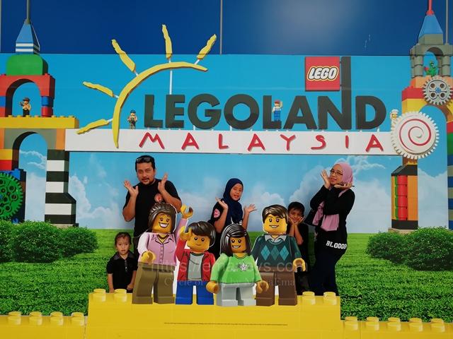 LEGOLAND Malaysia Theme Park Explore Bersama Keluarga dan Team KBBA9, Yeay..Family Day.
