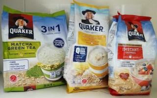 resepi quaker oat
