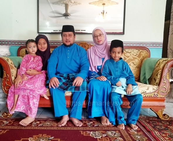Salam Lebaran dari Kuala Lumpur