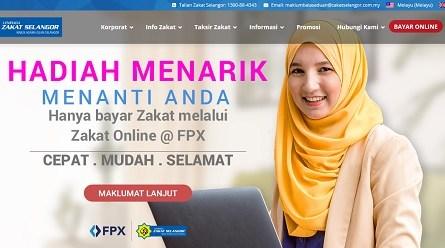 bayar zakat online