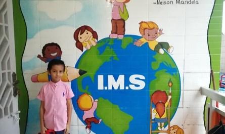 first day at international modern school