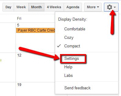 google calendar hack