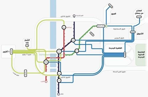 مواصلات مصر تستهدف الوصول لأكثر من 8 ملايين راكب بنهاية 2020